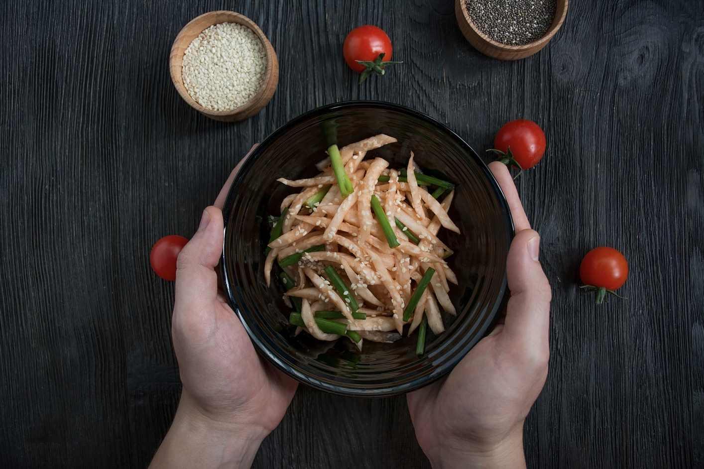 Korean Radish Salad | Korean BBQ Side Dish | BBQanswers