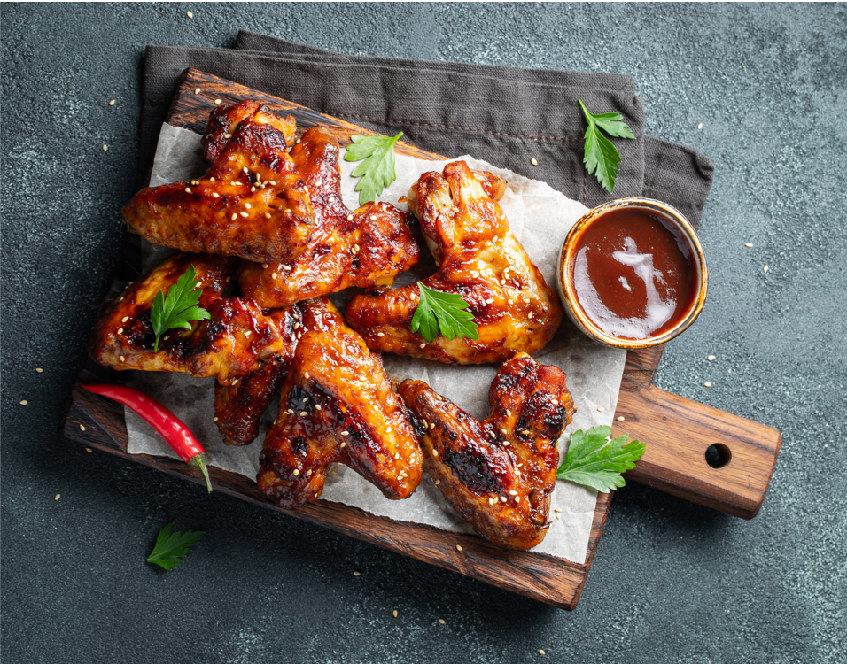 BBQ Sauce as Glaze for Chicken Wings Topping   BBQ Sauces 101   BBQAnswers