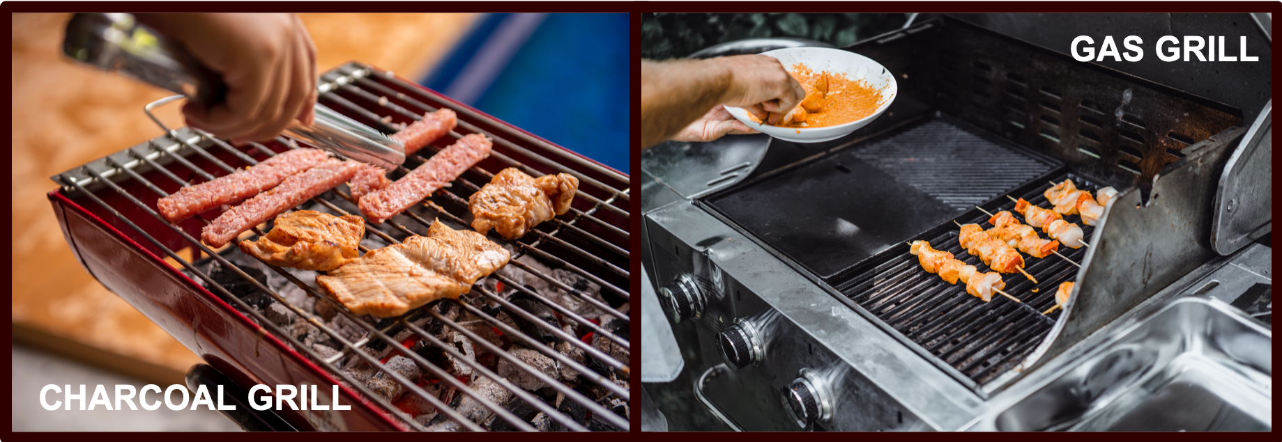 Gas Grill and Charcoal Grill | BBQanswers