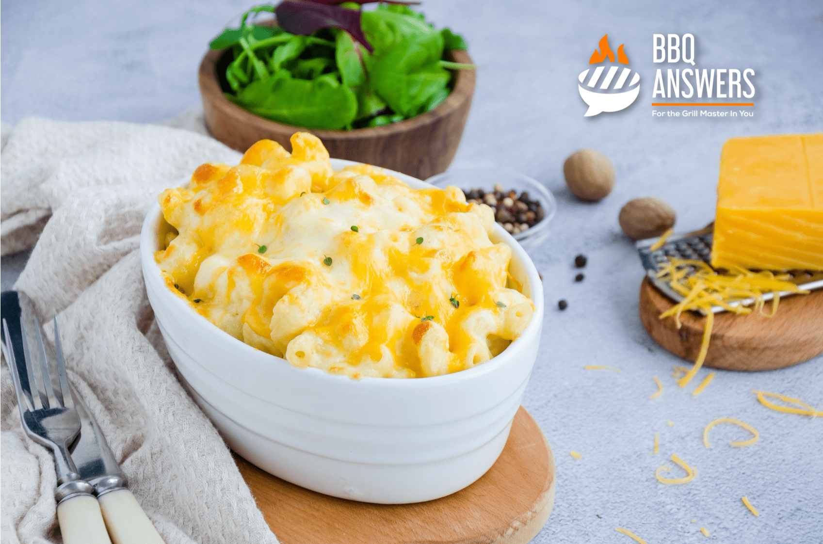 Baked Macaroni and Cheese Recipe | Southern BBQ Sides | BBQanswers