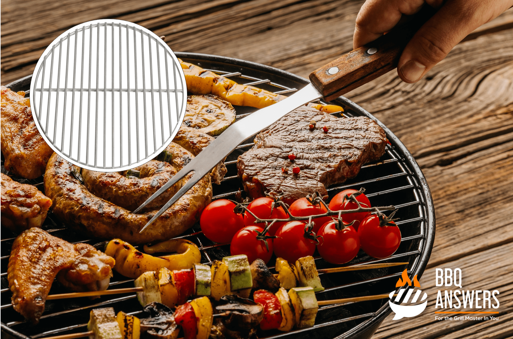 Chrome-Plated Steel Grates | BBQanswers