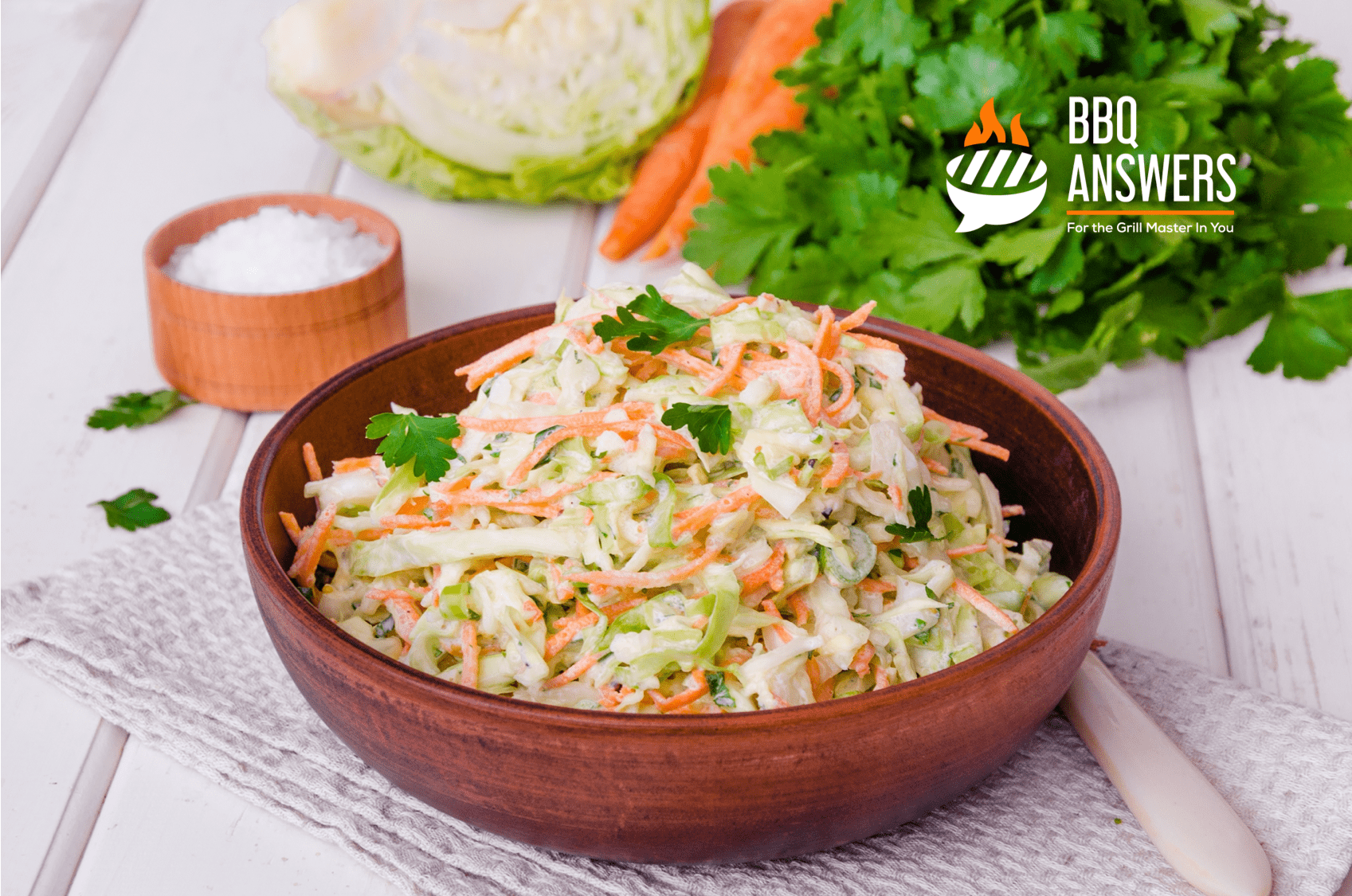 Coleslaw Recipe | Southern BBQ Sides Recipe | BBQanswers