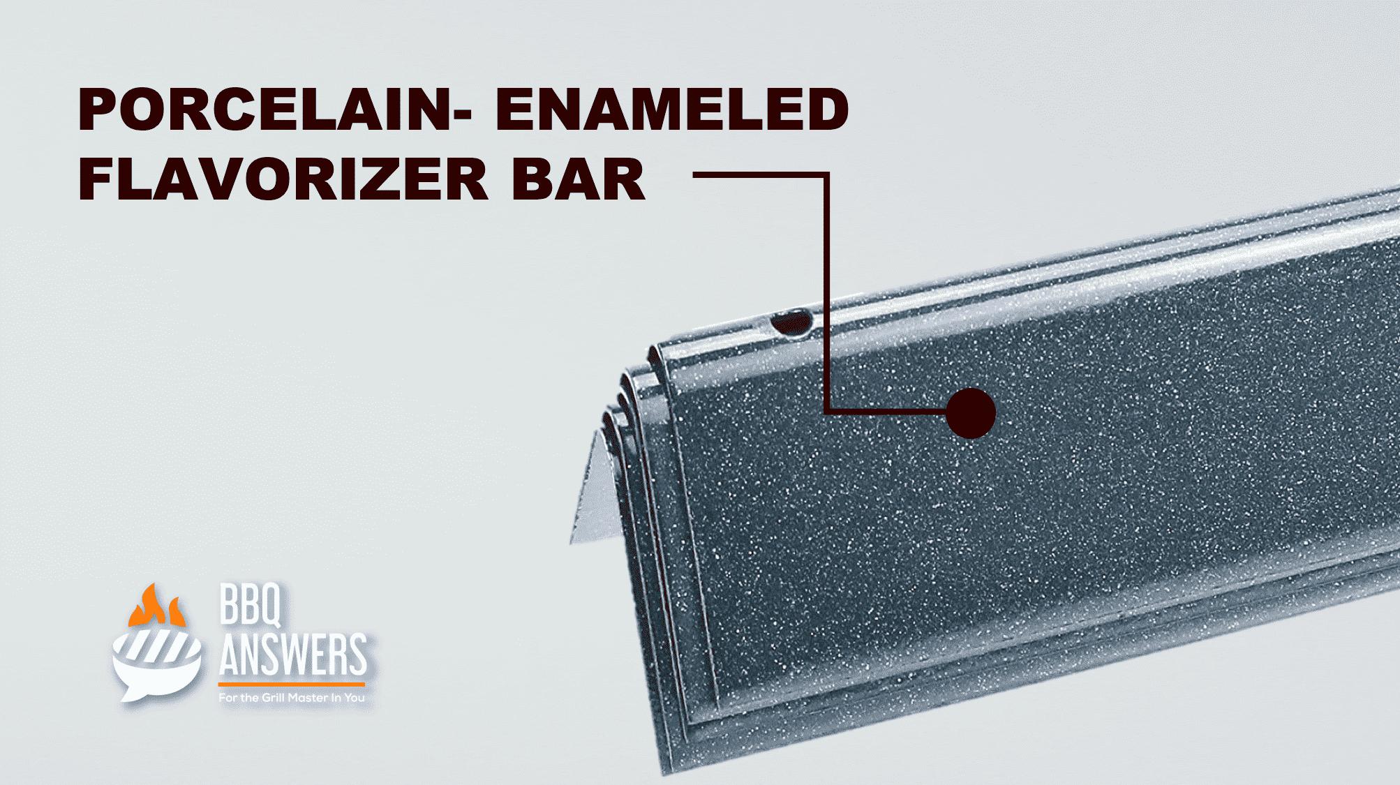 Porcelain Enameled Flavorizer Bar | BBQanswers