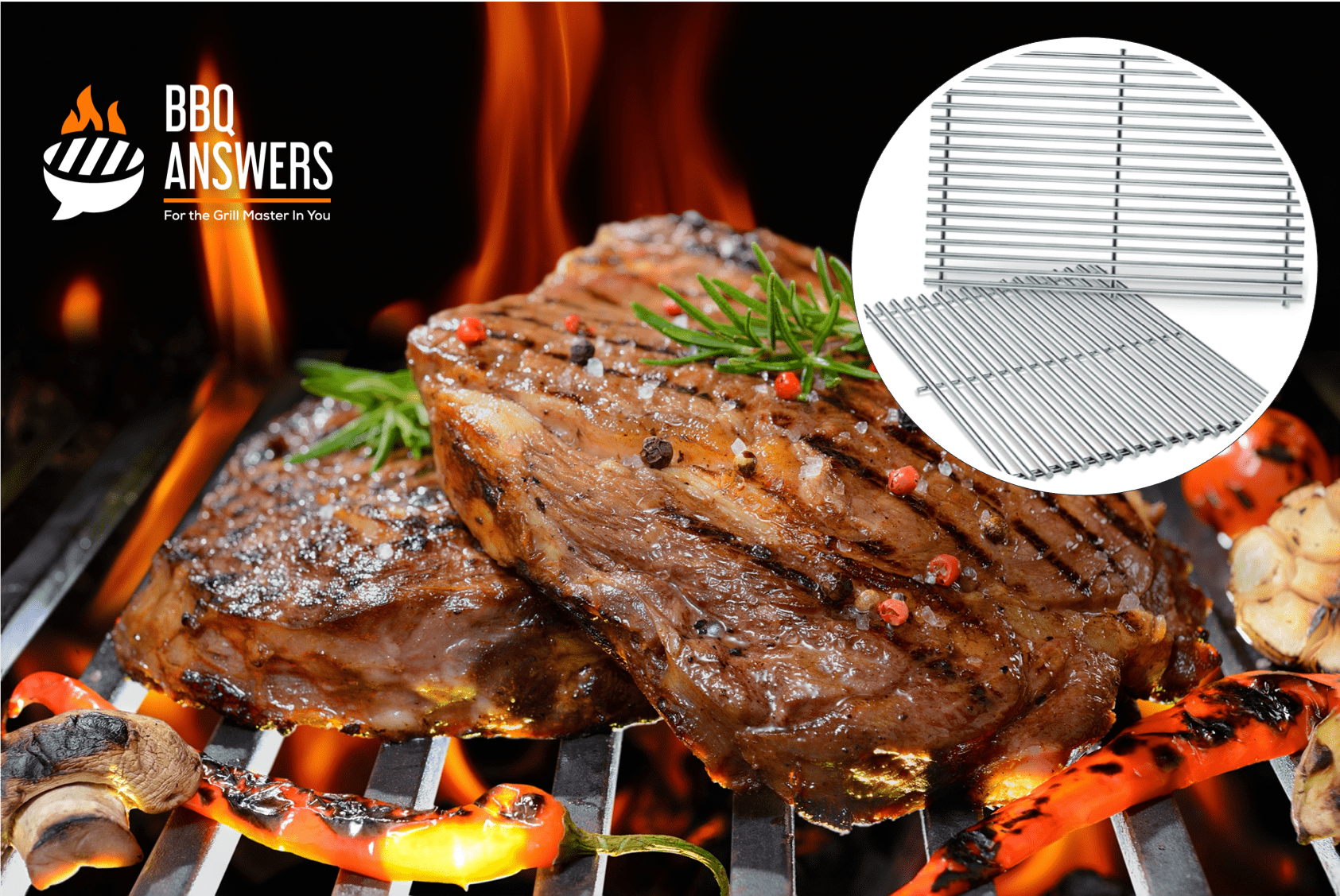 Stainless Steel Grill Grates | BBQanswers