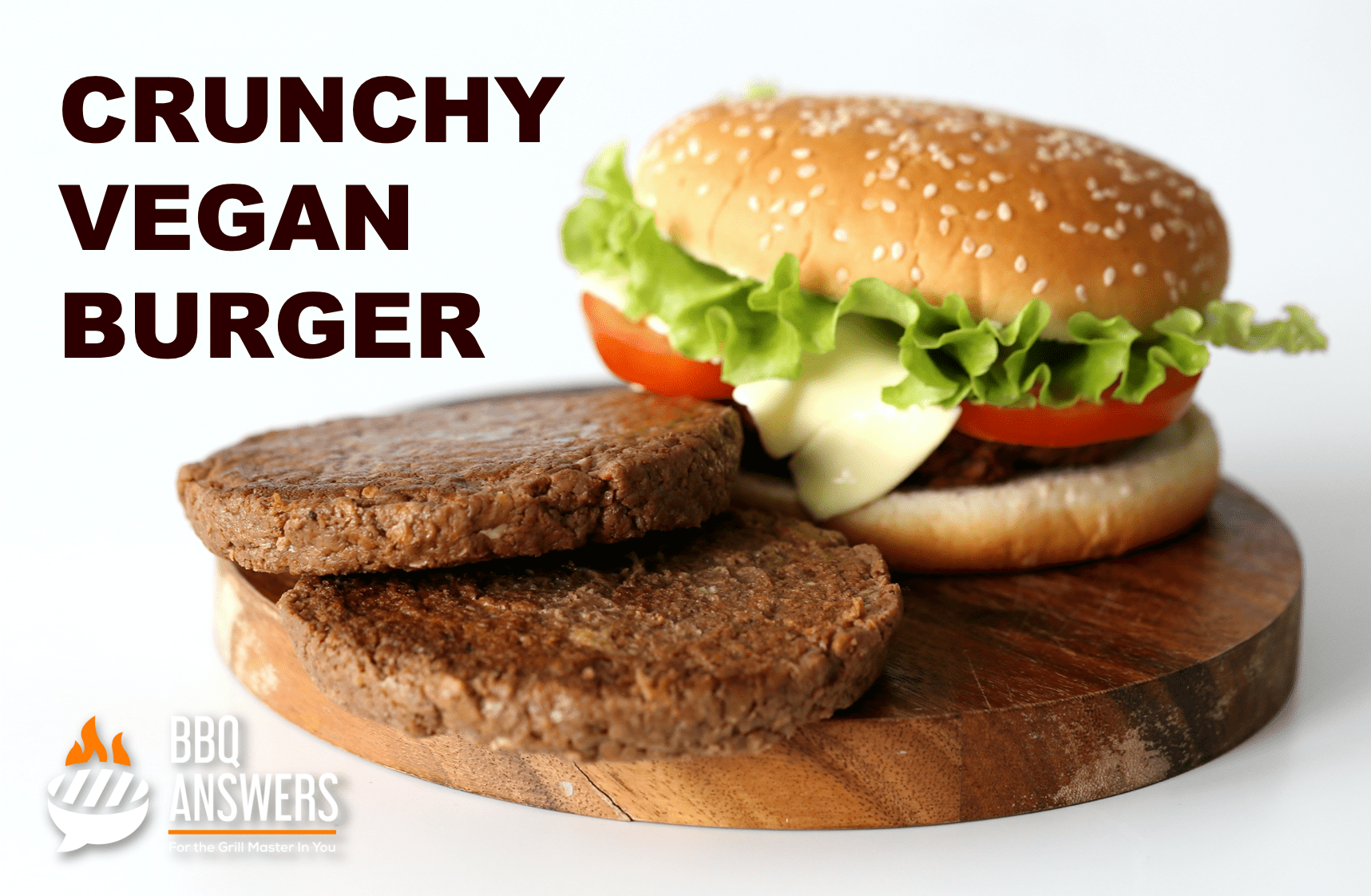 Crunchy Vegan Burger   Vegan Burgers You Must Try   BBQanswers