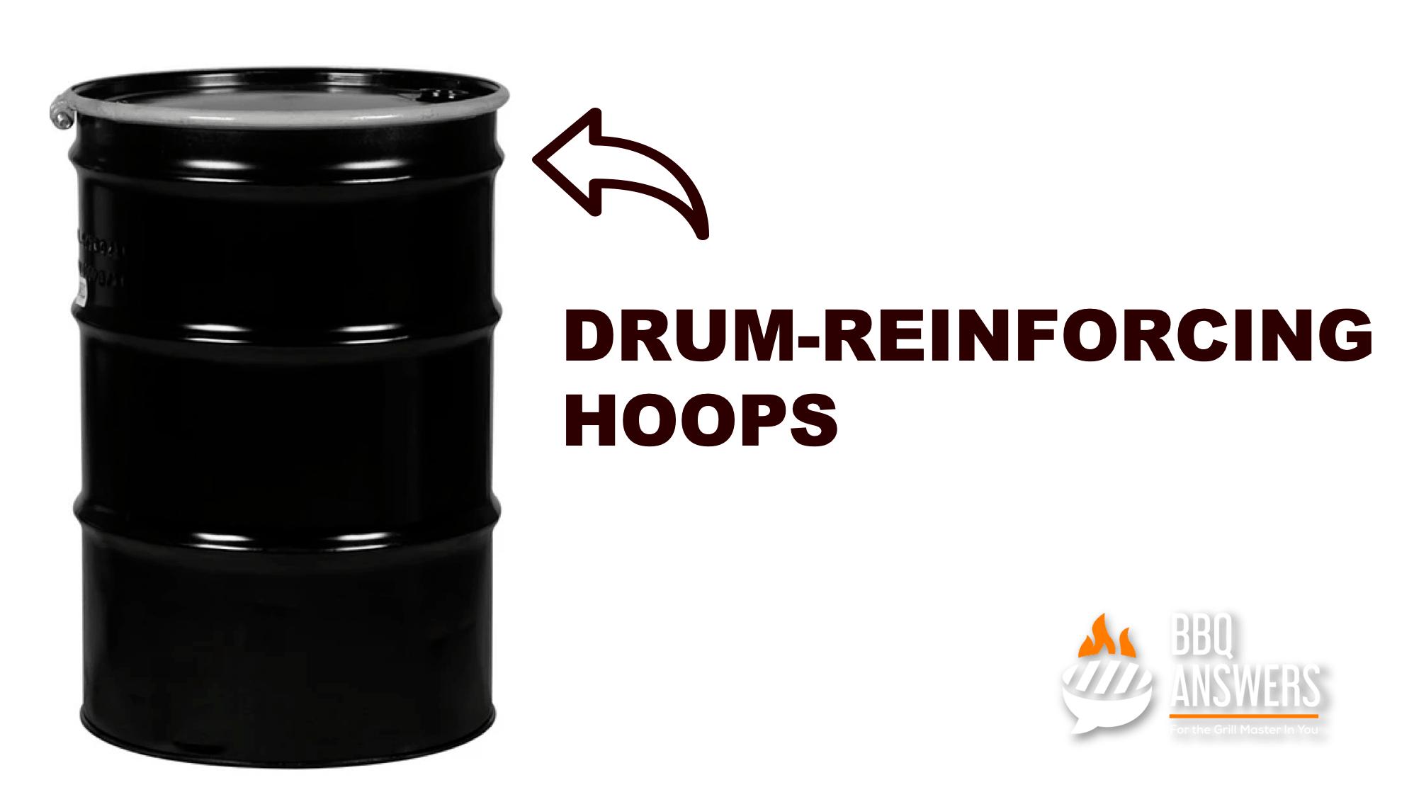 Drum Reinforcing Hoops | Basics of Oil Drum BBQs | BBQanswers